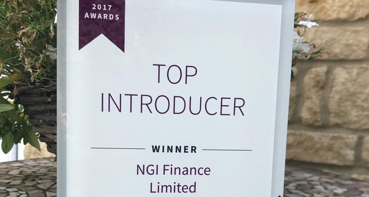 Top Introducer Award | NGI Finance