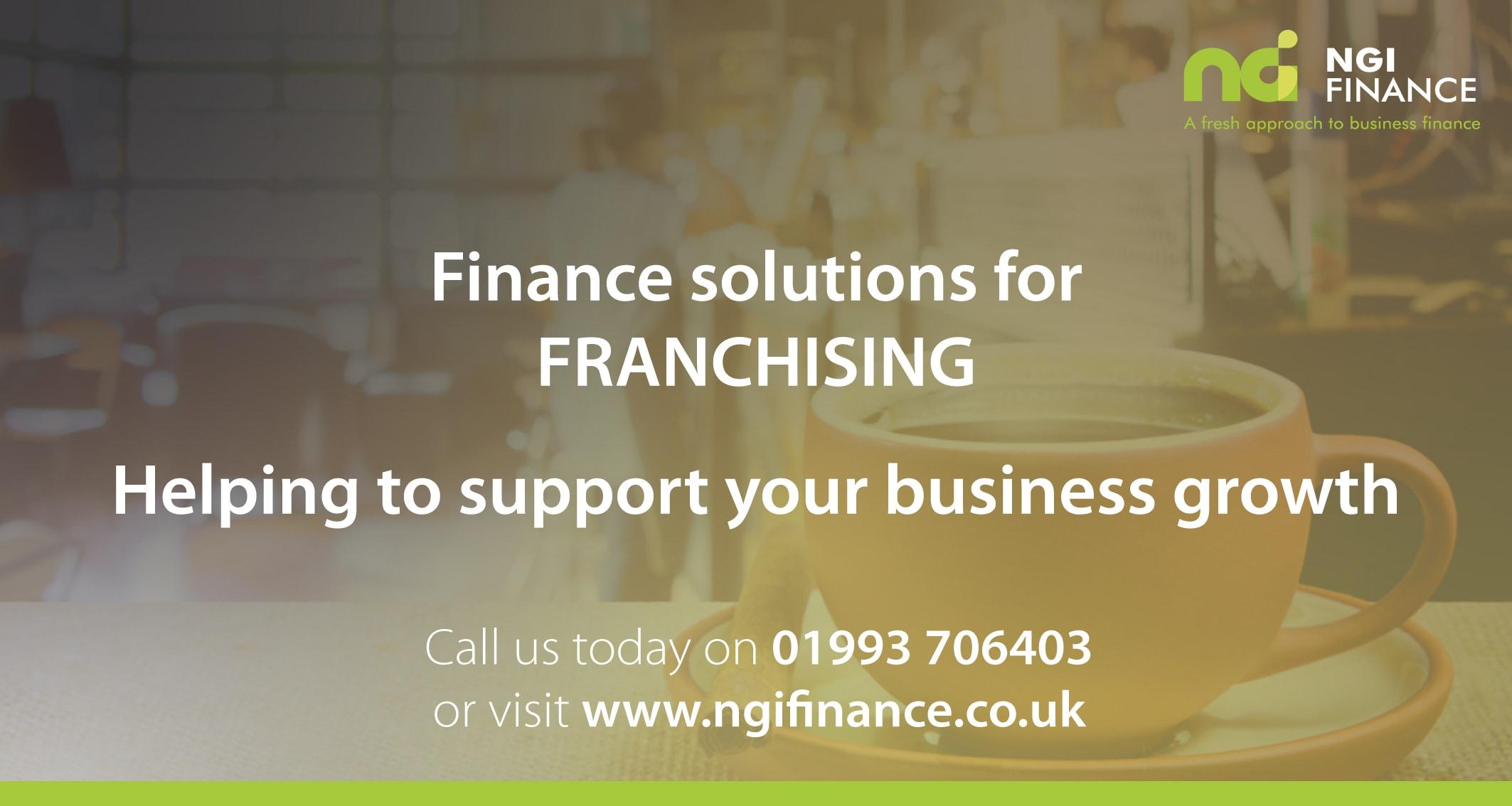 Finance Solutions for Franchising | Finance for Franchise Start-Up | Franchising Loans | Franchising Asset Finance