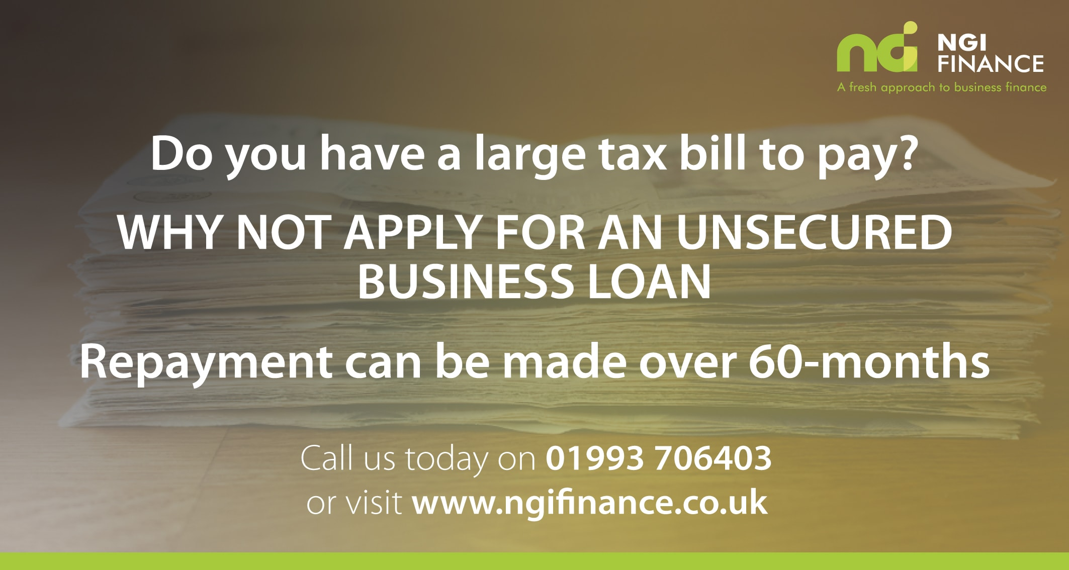 Tax Payments | Unsecured Business Loans | Finance for Tax Payments | Help to Pay Tax
