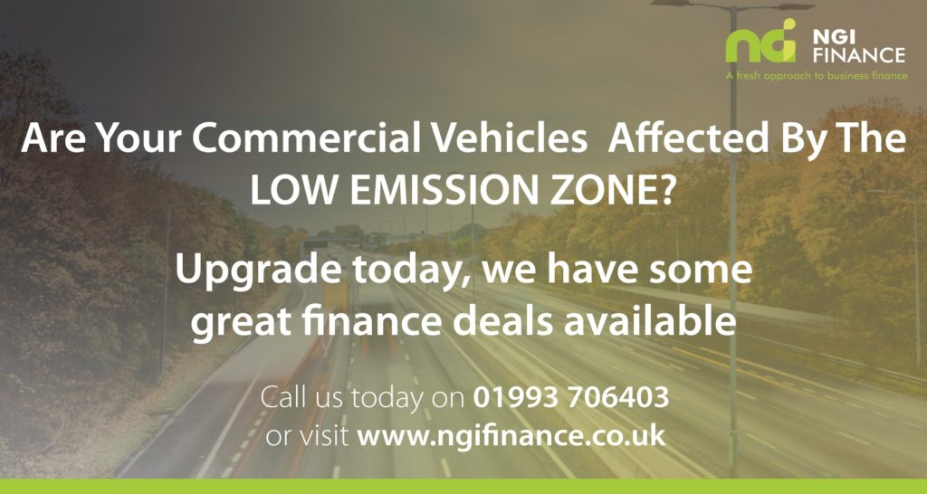 Low Emission Zone | Finance for Commercial Vehicle | Finance for Low Emission Car | Finance for Low Emission Van | Finance for Low Emission Lorry
