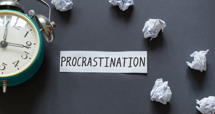 Let's stop the procrastination | Business Growth Support | Business Finance in Oxfordshire